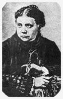 Е. П. Блаватская. Фото воспроизведено с дореволюционной открытки суфражисток