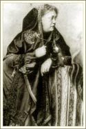 Е. П. Блаватская. Сентябрь 1875. Фотография выполнена неким Бердсли в Итаке, Нью-Йорк