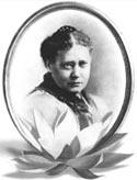 Е. П. Блаватская. 1875-1876. Фото выполнено неким Сарони в Нью-Йорке