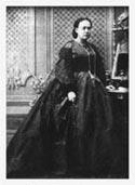 Е. П. Блаватская в юности (около 1860)