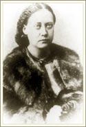 Е. П. Блаватская (около 1868) перед отъездом в Тибет