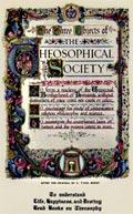Плакат Три основы Теософического общества