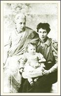 Анни Безант с родными