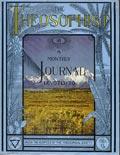 Журнал Теософист (Теософ). Обложка первого номера