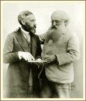 У. К. Джадж и Г. С. Олкотт. 1891