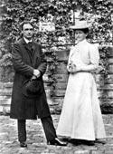 Рудольф Штейнер со своей женой Мэри. 1908
