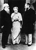 Г. Олкотт, А. Безант, Ч. Ледбитер. Адьяр, 1905