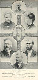 Участники Теософского Конгресса в рамках Парламента религий