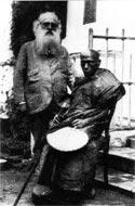 Г. С. Олкотт и преп. Хиккадува Сумангала. Цейлон