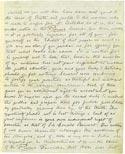 Листок письма Махатмы К. Х. Август 1882. Оригинал 20,6х13,7 см. Лондон, Общество Психических Исследований