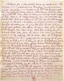 Листок письма А. П. Синнета. Август 1882. Лондон, Общество Психических Исследований