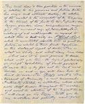Листок письма Махатмы К. Х. 10 декабря 1880. Оригинал 21,2х26,2 см. Лондон, Общество Психических Исследований