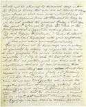 Листок письма Махатмы К. Х. 29 октября 1880. Оригинал 20,6х25,6 см. Лондон, Общество Психических Исследований