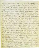 Листок письма Махатмы К. Х. 19 октября 1880. Оригинал 20,6х25,6 см. Лондон, Общество Психических Исследований