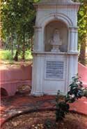 Могила Г. С. Олкотта. Адьяр, Мадрас, Южная Индия. Фото Венцислава Симеонова