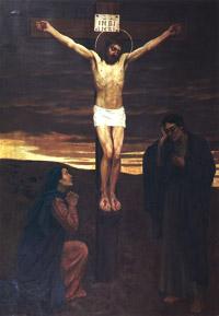 Распятие Христа. Васнецов.