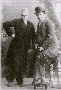 Н.К. Рерих и его дядя Коркунов? 1896-98гг. МССМ