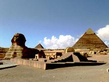 Египетские пирамиды. Сфинкс