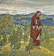 Н.К. Рерих. Ункрада [Эскиз]. 1909