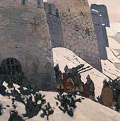 Н. К. Рерих. Дозор. 1905