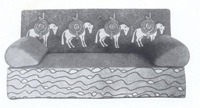 Н. К. Рерих. Диван (Эскиз для мастерских в Талашкине).1904