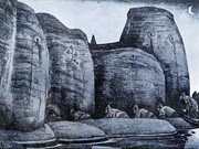 Н. К. Рерих. Тайник. 1915