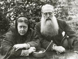 Е.П. Блаватская и Генри С. Олкотт