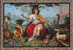 Орфей — персонаж древнегреческой мифологии, певец и музыкант