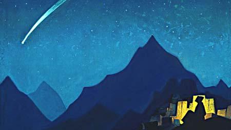 Н.К. Рерих. Звезда Героя. 1936. Музей Николая Рериха, США. Нью-Йорк.