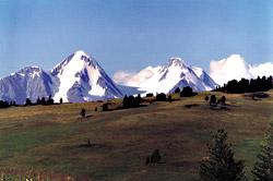 Гора Белуха. Фото В.Н. Изразцова