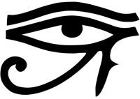 Око Ра, главного божества древних Египтян, также называвшегося Глазом Гора (Уаджет)