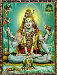 Третий глаз, изображенный на лбу Шивы, также называется внутренним глазом.