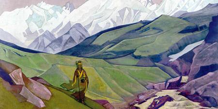 Н. К. Рерих. Иенно-Гуйо-Дья - друг путников. 1924