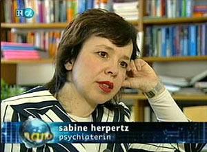 Психиатр Сабрина Херпертц