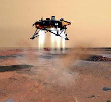 Зонд Phoenix будет искать жизнь на Марсе
