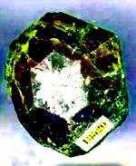 Александрит 2,7 х 3,5 см. Изумрудные копи. Урал