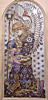 Вышивка выполнена по просьбе княгини М.К. Тенишевой для церкви в имении