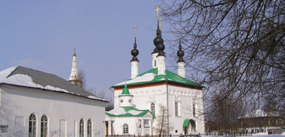 Цареконстантиновский собор (1707 г.) Владимирской области.