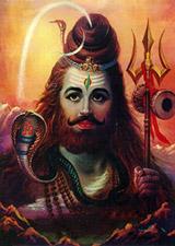 Бог Рудра.