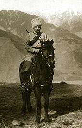Юрий Николаевич Рерих в экспедиции