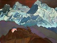 Н.К. Рерих.  Жар-Цвет. 1924