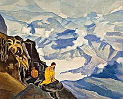 Н.К. Рерих.  Капли жизни. 1924.