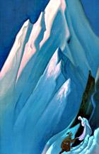Н. К. Рерих. Ведущая.  1944г.  Государственный музей искусства народов Востока. Россия. Москва