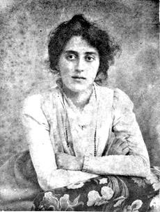 Лидия Арманд(Тумповская). 1900г.