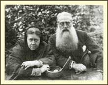 Е.П. Блаватская и Генри Олькотт