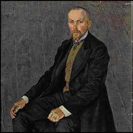 А.Я.Головин. Портрет Н.К.Рериха. 1907