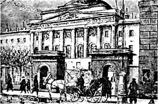 К.Ф.Юон. Московский университет. 1911