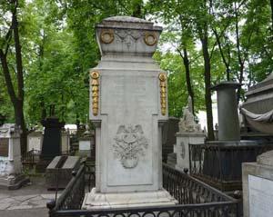 Надгробие на могиле М.В. Ломоносова на Лазаревском кладбище Александро-Невской  Лавры.Санкт-Петербург