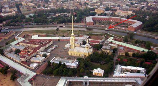 Это Грааль – тайна за семью печатями Петербурга – Петропавловский собор – пояс Ориона в миниатюре, если смотреть с севера на юг!