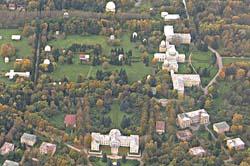 Пулковская обсерватория, аэроснимок